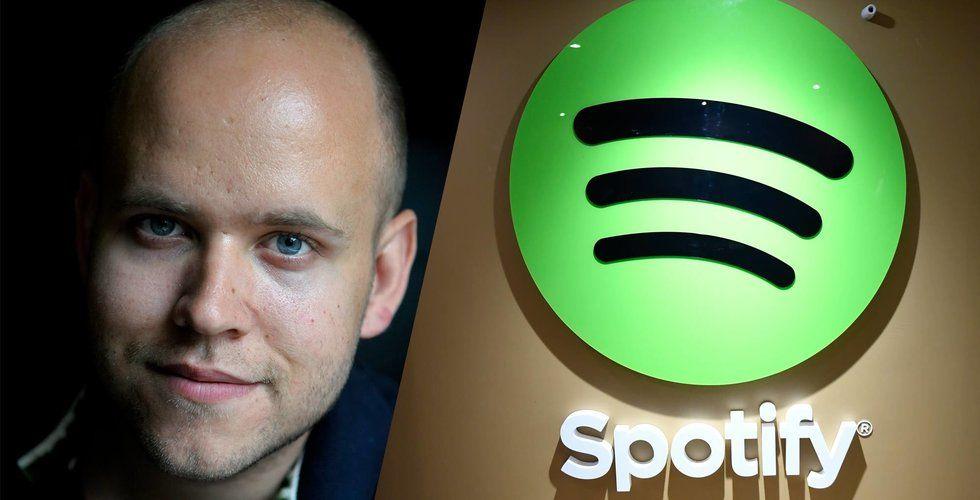 Breakit - Rekordvärdering för Spotify