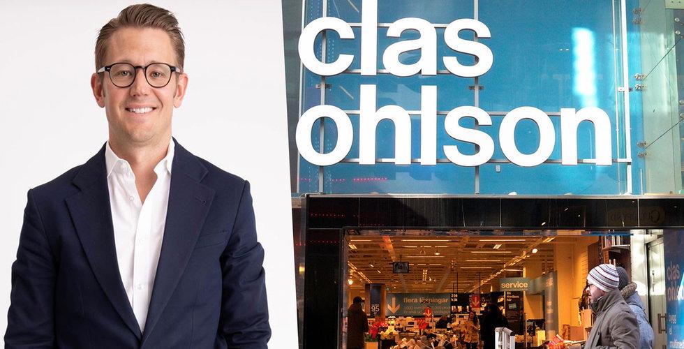 Clas Ohlsons försäljning ökade 6 procent i september
