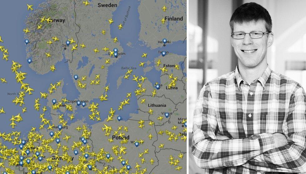 Flightradar24 använder vinsten till såddinvestering i drönarbolag