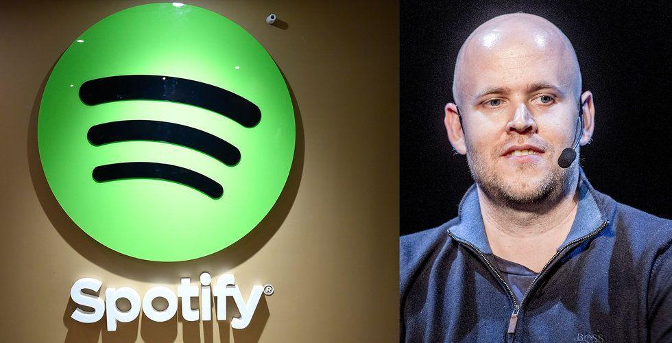 Breakit - Uppgifter: Värdet på Spotify rusar
