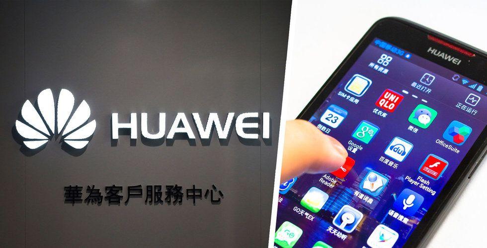 Huawei lanserar egna operativsystemet HarmonyOS