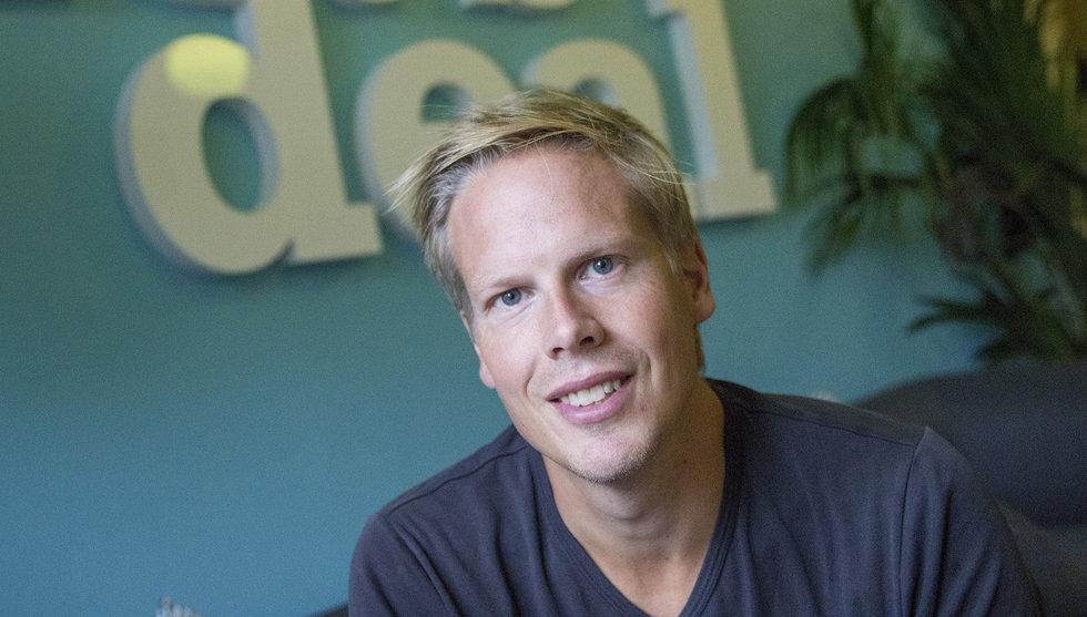 Så gick Let's deal-grundaren från pank till dubbel startupsuccé