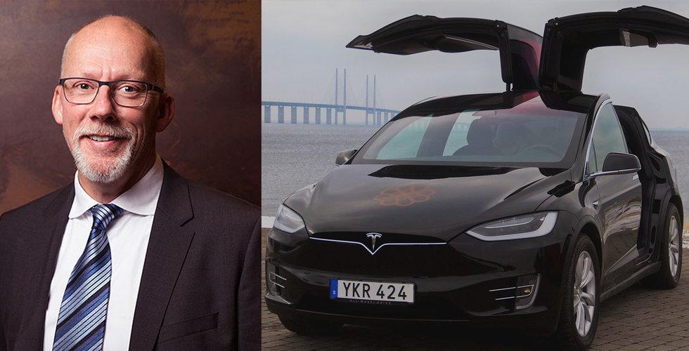 Breakit - Nya Uber-utmanarens plan: Tesla-taxi med egen chaufför