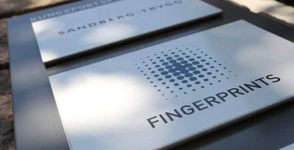 """Milstolpe för Fingerprint: """"Visar att vi är på rätt väg"""""""