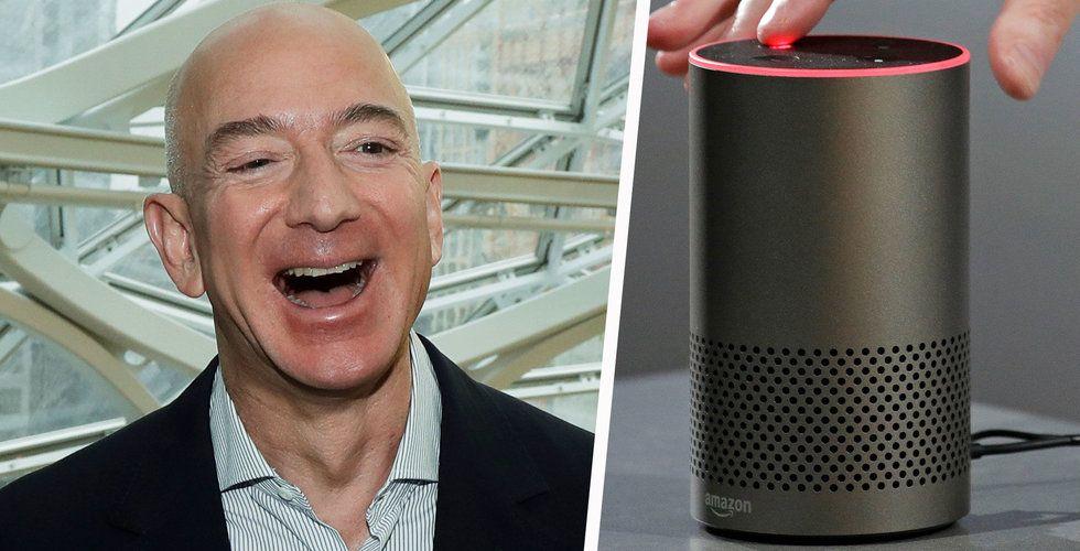 Breakit - Amazon ska dubbla satsningen på röstassistenten Alexa