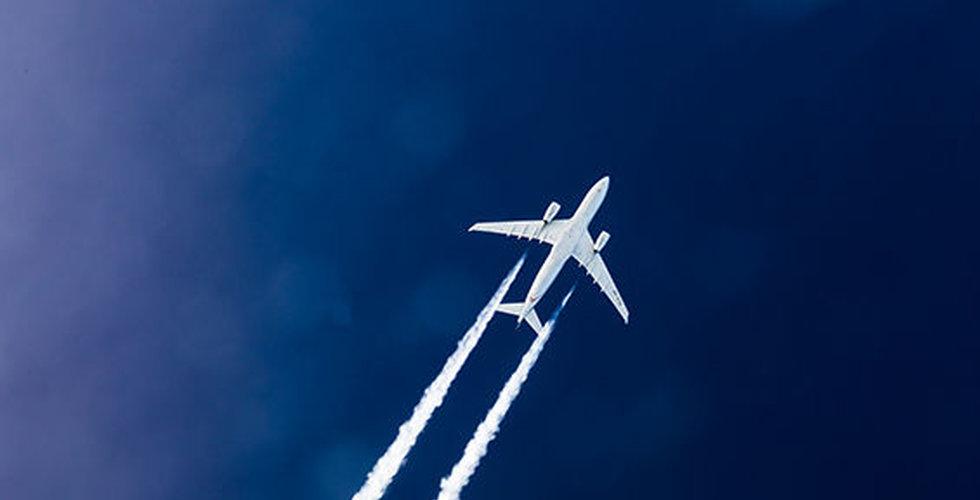 Intresset för inrikesflyg ökar kraftigt