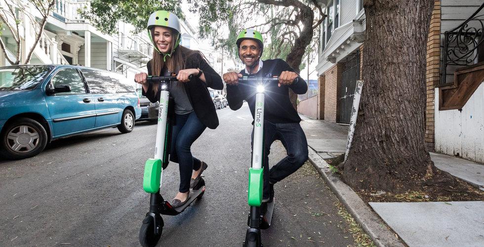 Elscooterbolaget Lime fortsätter att gasa – ska ta in 3,6 miljarder kronor