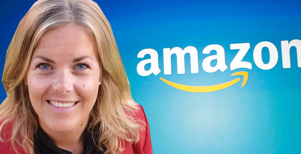 Oväntade detaljen som kan få de svenska handlarna att halka efter på Amazon