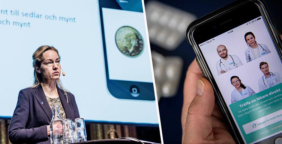 E-krona och nätläkare – årets nyord har presenterats
