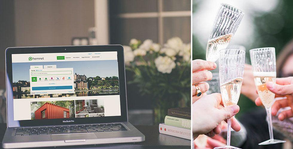 Hemnet ökar vinsten – svenskarna la i snitt 32 minuter per månad på bostadssajten förra året