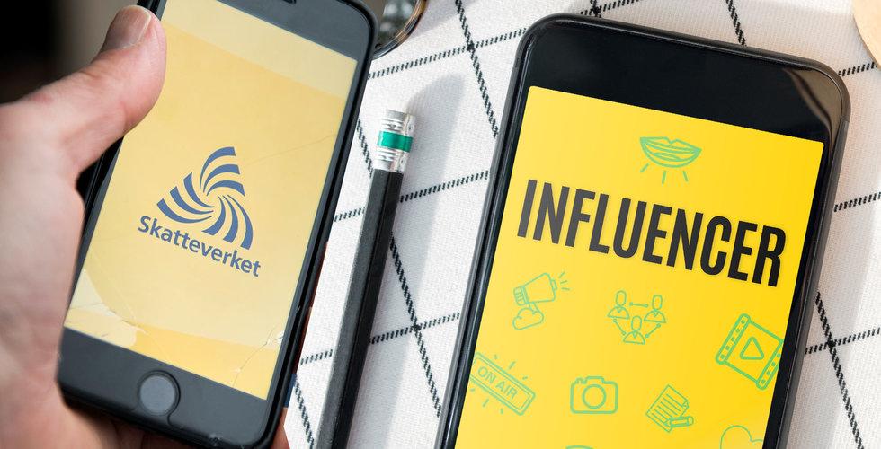 Skatteverket skulle granska fuskare i influencerbranschen – endast ett företag har fällts