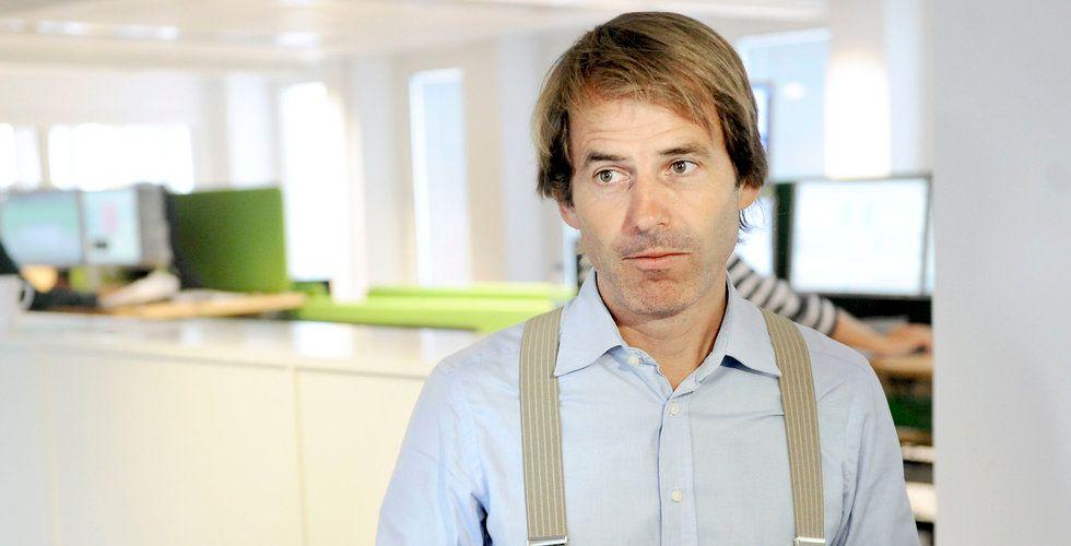 """Claes Hemberg satsar på robotrådgivaren Lysa – """"Skulle gärna äga mer"""""""
