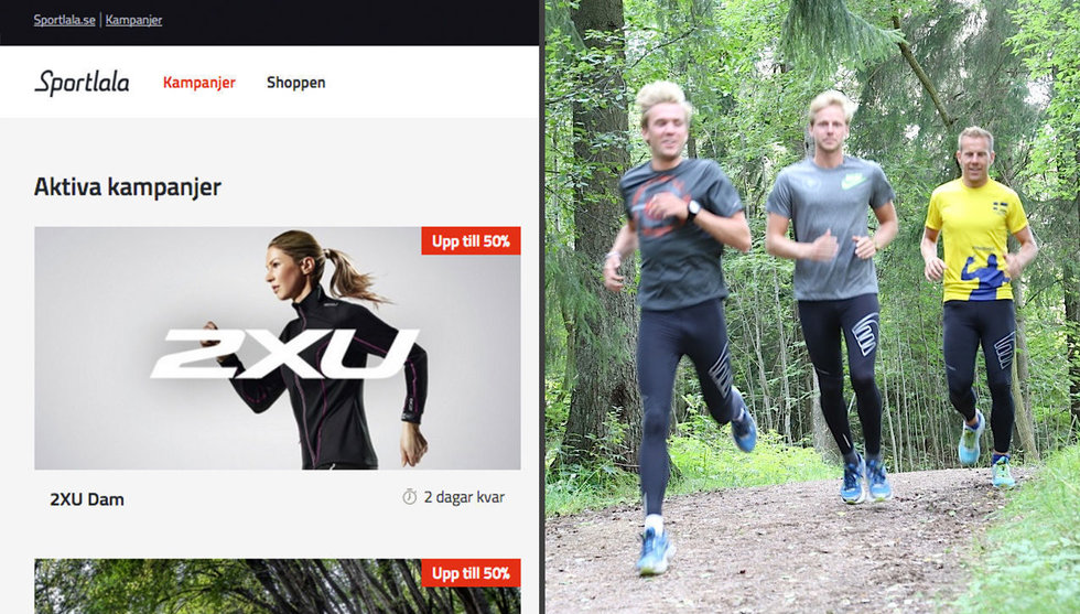 Breakit - Shoppingklubben Sportlala tar in kapital till billigare träningskläder