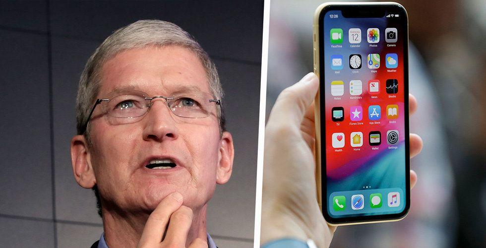 Apple bättre än väntat – men säljer färre Iphones