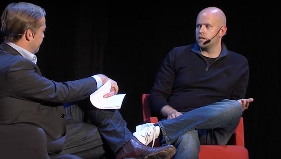 Daniel Ek avslöjar: Så nära var det att Spotify gick i graven