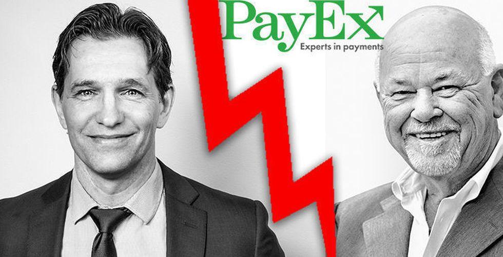 """PayEx vd: """"De vi slåss mot är uppbackade av tunga finansiärer"""""""