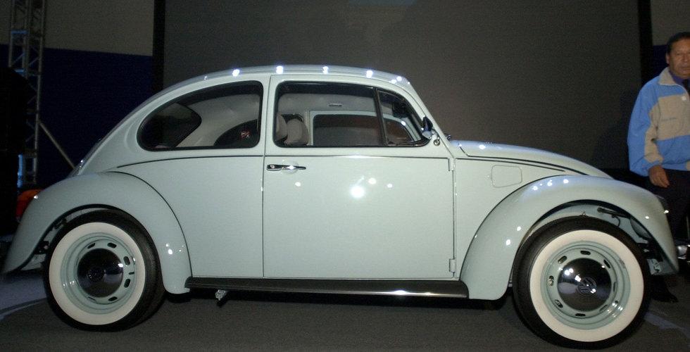 Breakit - Volkswagen överväger elversion av Beetle