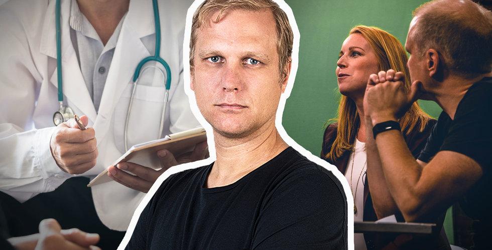 Mardrömsveckan – läkaren gav chockbesked och Annie Lööf dissade min (osköna) invit