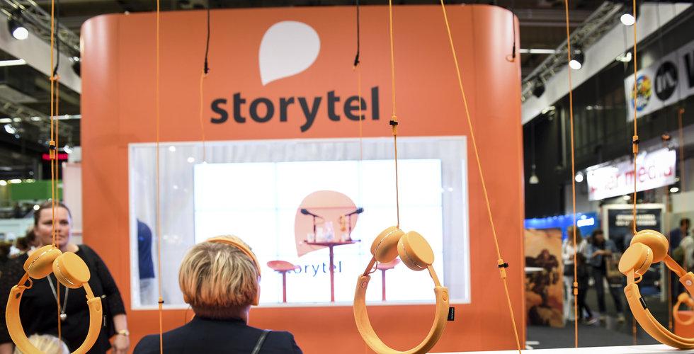 Storytel: Ersättningen till förlagen kommer att vara densamma