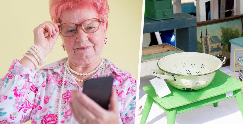 Erikshjälpen satsar på e-handel – nu får loppisfyndarna konkurrens av nätshoppare
