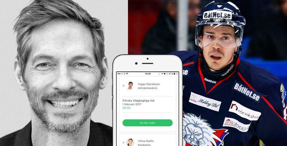Medicheck låter dig träffa specialistläkare i mobilen – backas av hockeystjärna