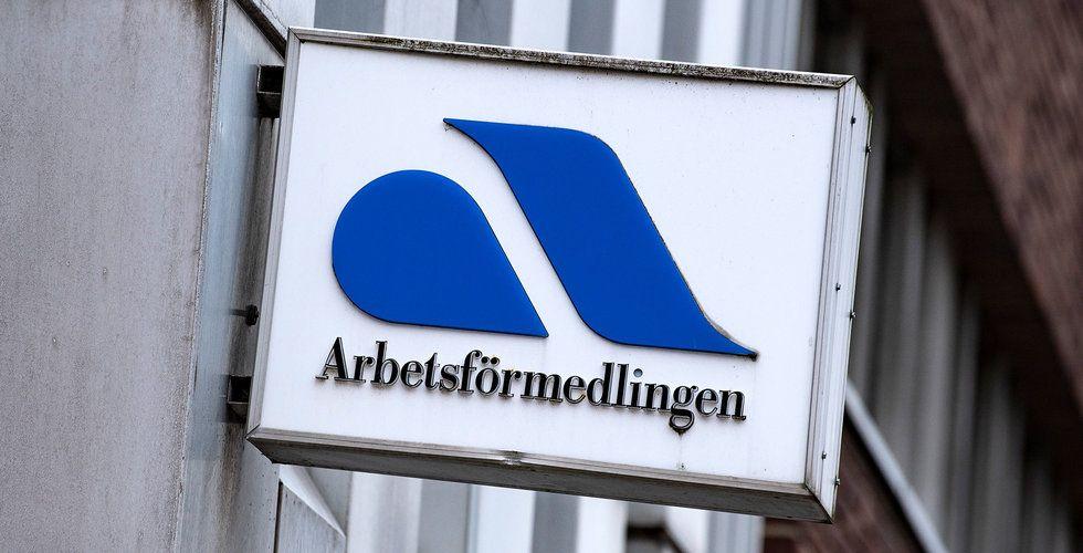 Arbetslösheten i Sverige har stigit till 9,1 procent