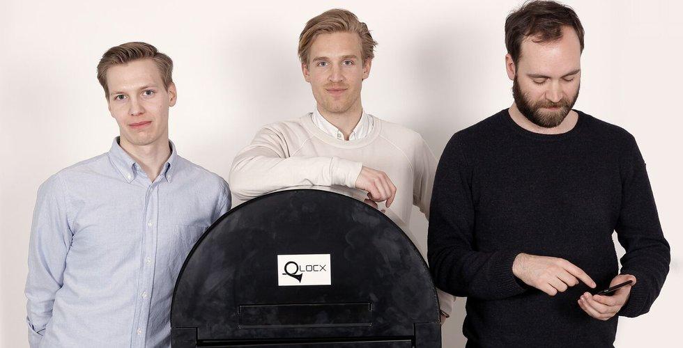 """Qlocx vill starta en brevlåderevolution: """"Har fyra miljoner att byta ut i Sverige"""""""