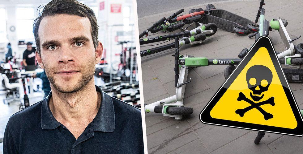 Voi-grundaren tror på masslakt bland scooter-bolagen