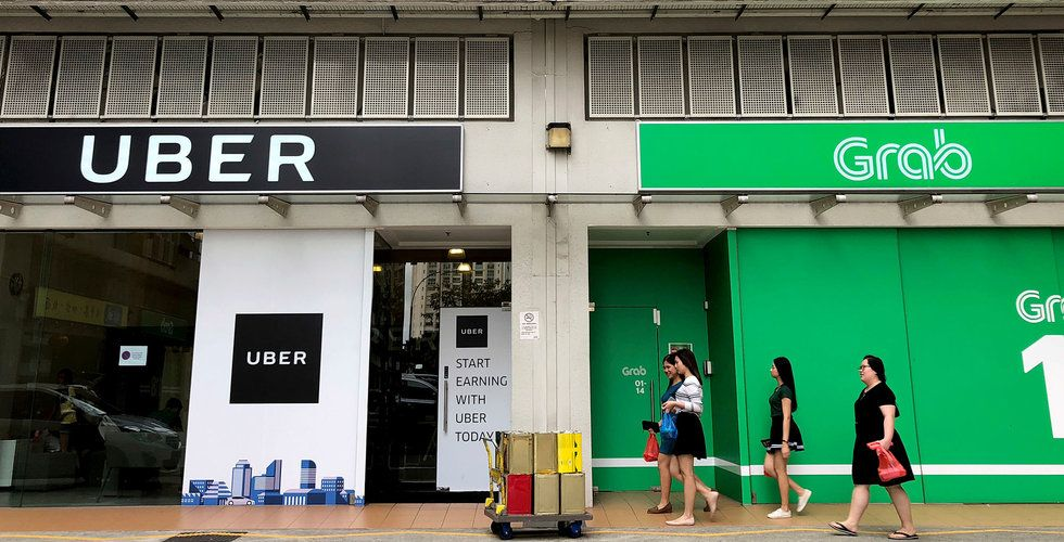 Uber säljer sin sydostasiatiska verksamhet till Grab