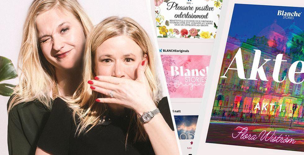 Beatrice von Schwerin, Lisa Leuhuse, Blanche Stories. Foto: Pressbild/Montage
