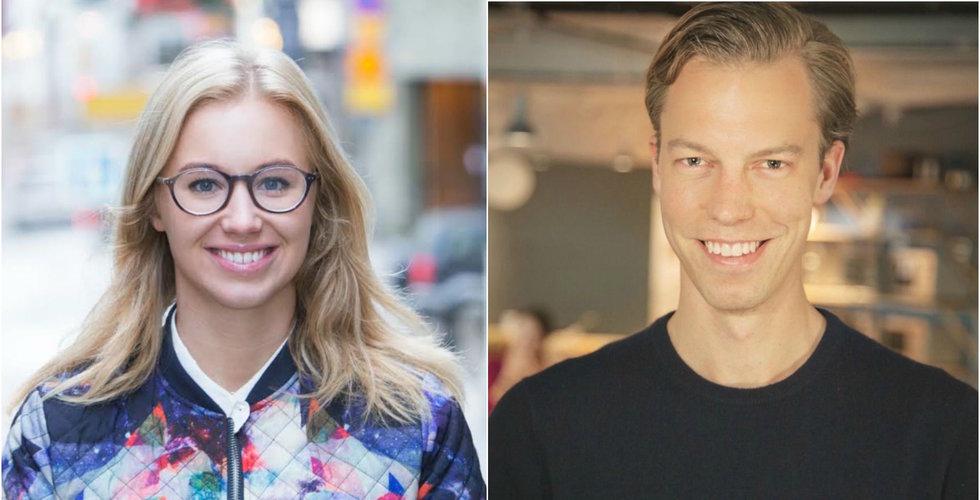 Kry rekryterar Sabina Wizander och Izettles tidigare produktchef Peder Stahle
