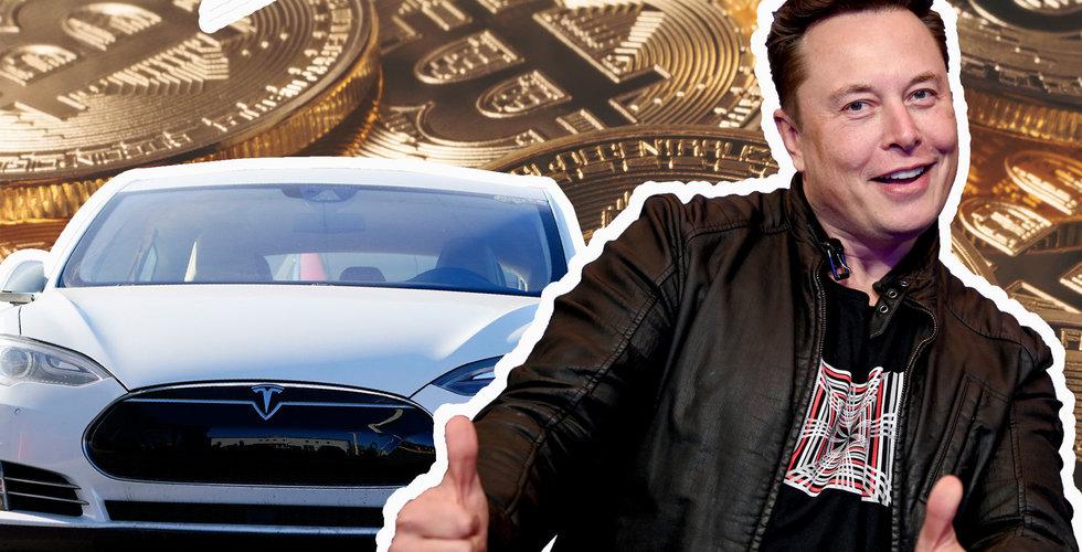 Bitcoin stiger efter nytt löfte från Musk - Tesla kan acceptera valutan om det blir mer miljövänligt