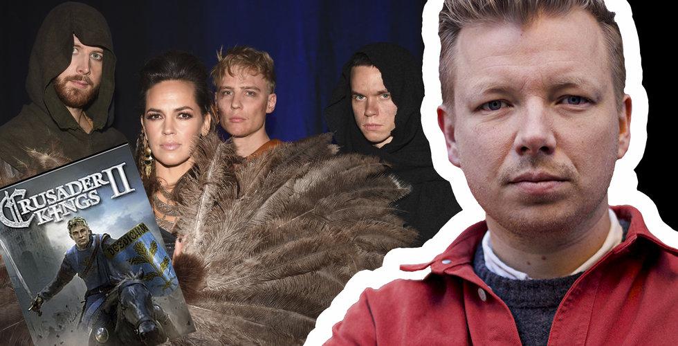 Så kuppades hela Melodifestivalen – av det svenska spelutvecklingsbolaget Paradox