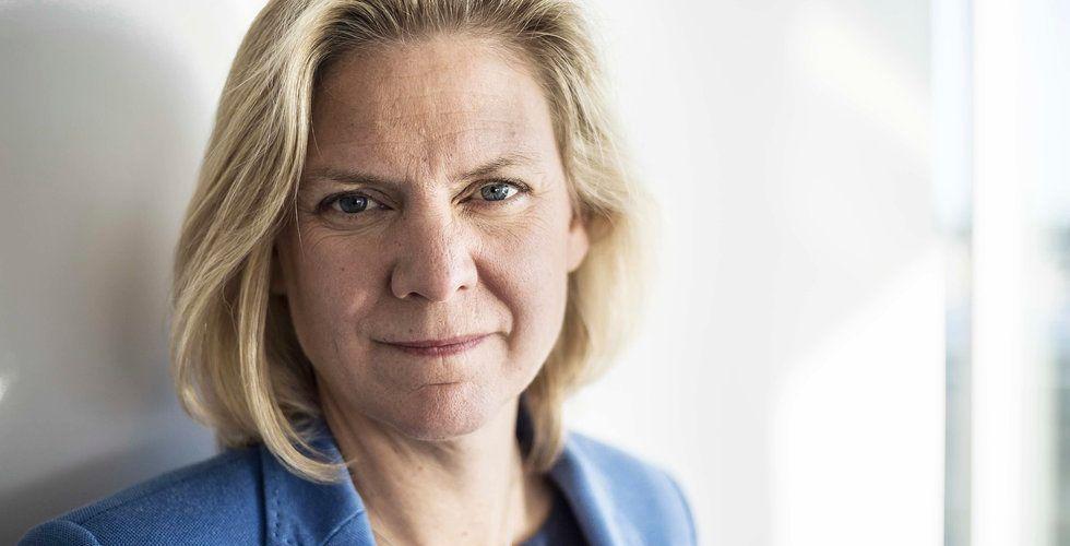 3:12-reglerna ska ändras – om Magdalena Andersson får som hon vill