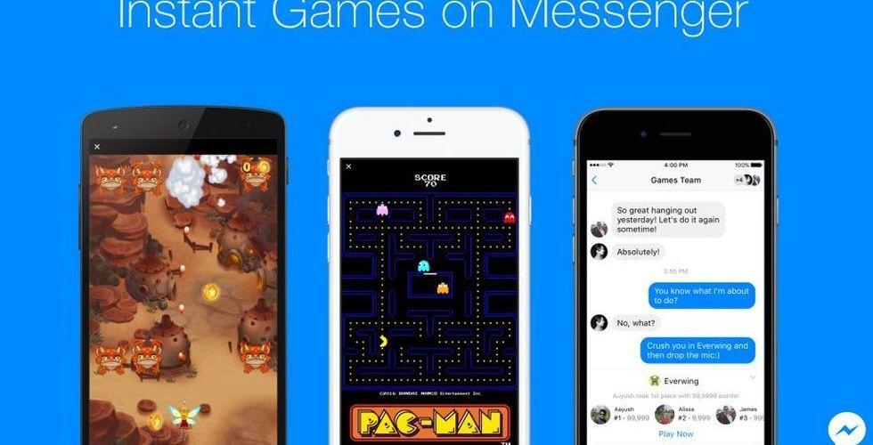 Mag Interactive och King med när spelen kommer till Messenger