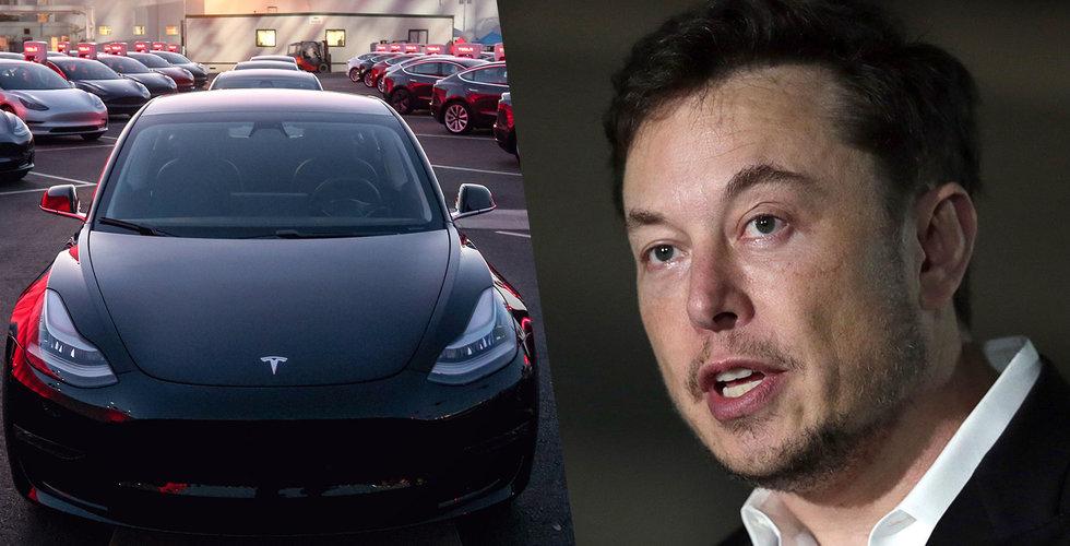 Tesla vill ta in nästan 20 miljarder