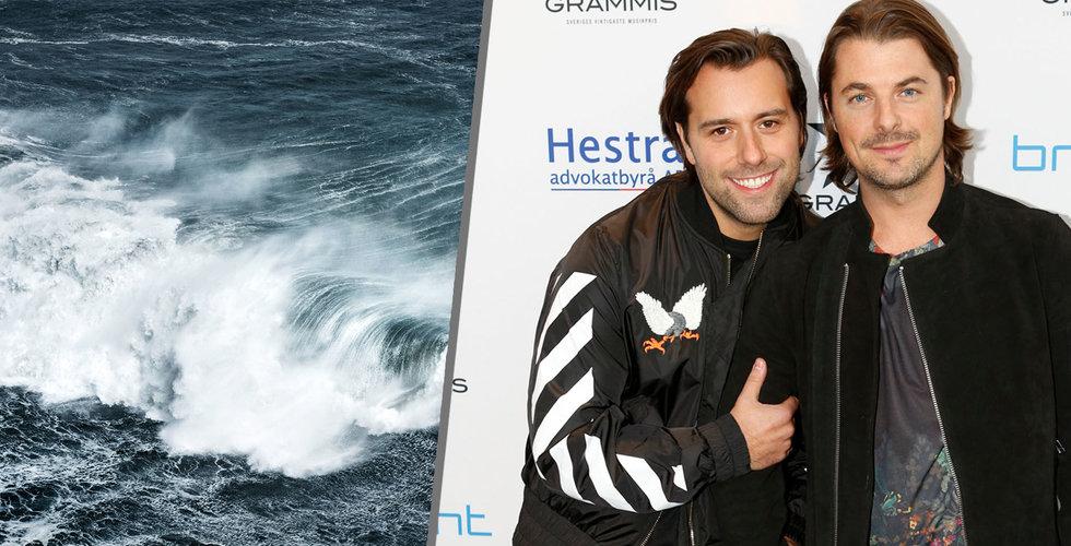 Axwell satsar på Surfcleaner – vill rena havet på utsläpp