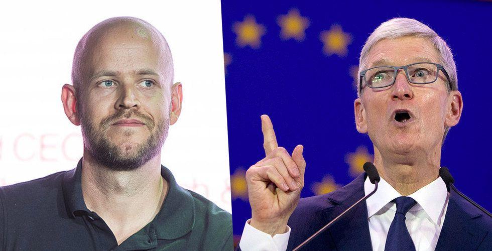 EU utreder Apple efter bråk med Spotify