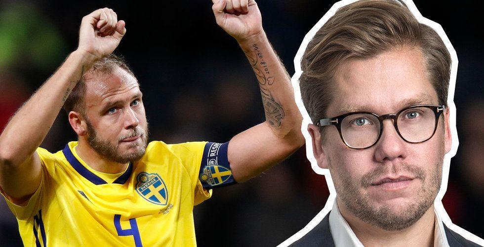Anders Cedhamre har redan lyckats locka Andreas Granqvist, Frida Hansdotter och NBA-stjärnan Jonas Jerebko till sitt stall.