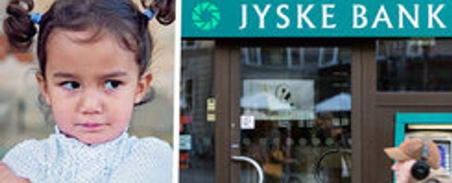 Jyske Bank-kunder med över 750 000 danska kronor på kontot får negativ ränta