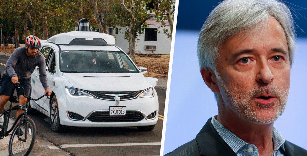 Waymo ska börja köra personer med helt förarlösa bilar