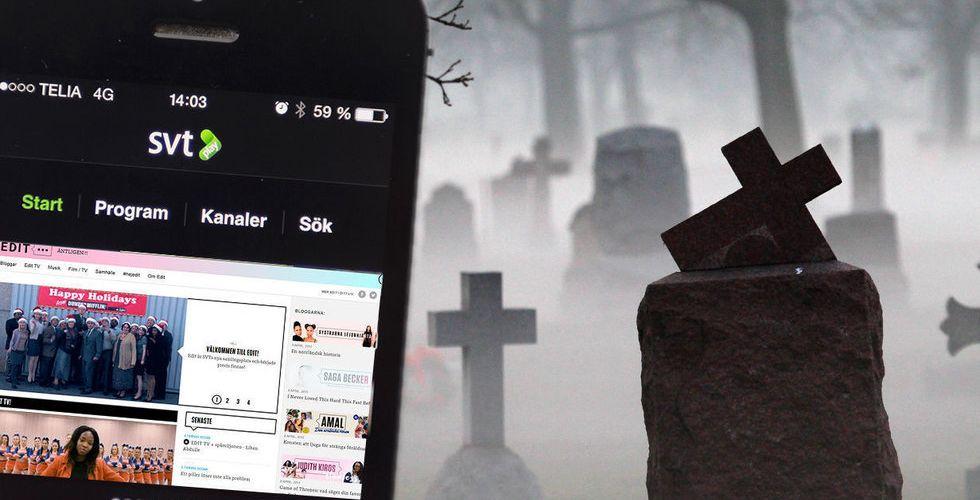 SVT skrotar den kritiserade digitala ungdoms-sajten Edit.se