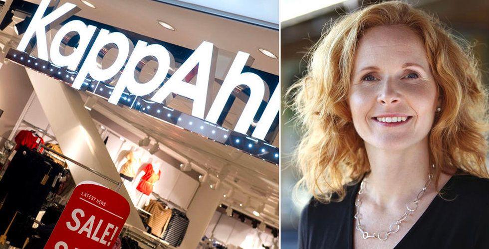 Kappahl lanserar nytt butikskoncept