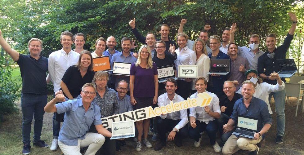 Åtta nya startups får änglavakt och 300.000 kronor av Sting
