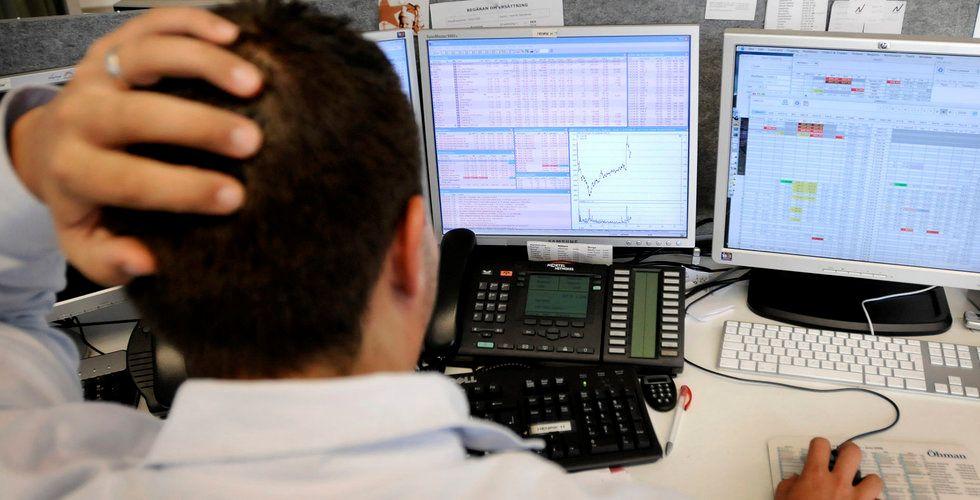 Breakit - Mitt i börspaniken – nätbanken ligger nere