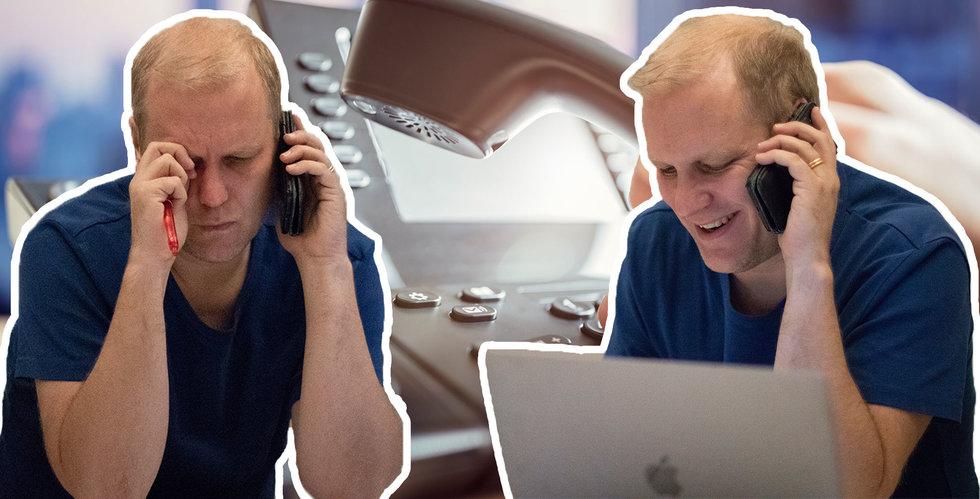 Breakits grundare blir telefonförsäljare – följ med bakom kulisserna här