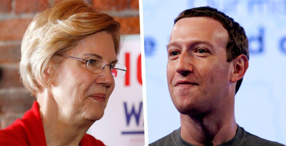 Elizabeth Warren ska bräcka Trump – vill bryta upp de stora techbolagen