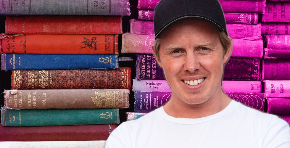 Han ska få oss att kränga böcker – norska succén Bookis gör inbrytning i Sverige