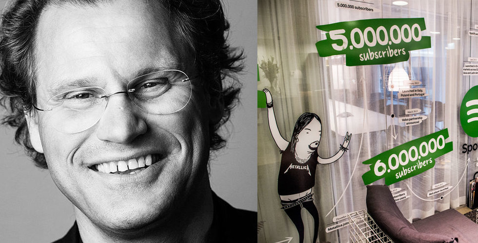 """Breakit - Pär-Jörgen Pärson """"upptäckte"""" Spotify – nu får han lämna styrelsen"""