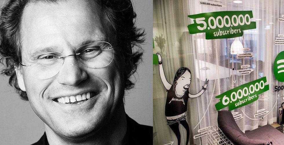 """Pär-Jörgen Pärson """"upptäckte"""" Spotify – nu får han lämna styrelsen"""